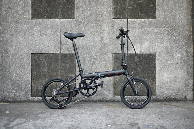 "Crius Shadow 2019 V-Brake 16"" Folding Bike"