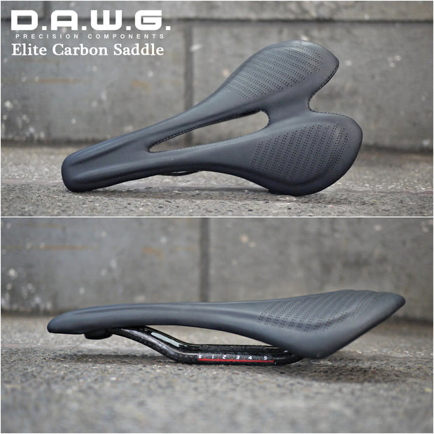 DAWG Elite Carbon Body & Rails Saddle