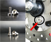 Titanium Motorcycle Rotor Bolts - CoolStuff168PH