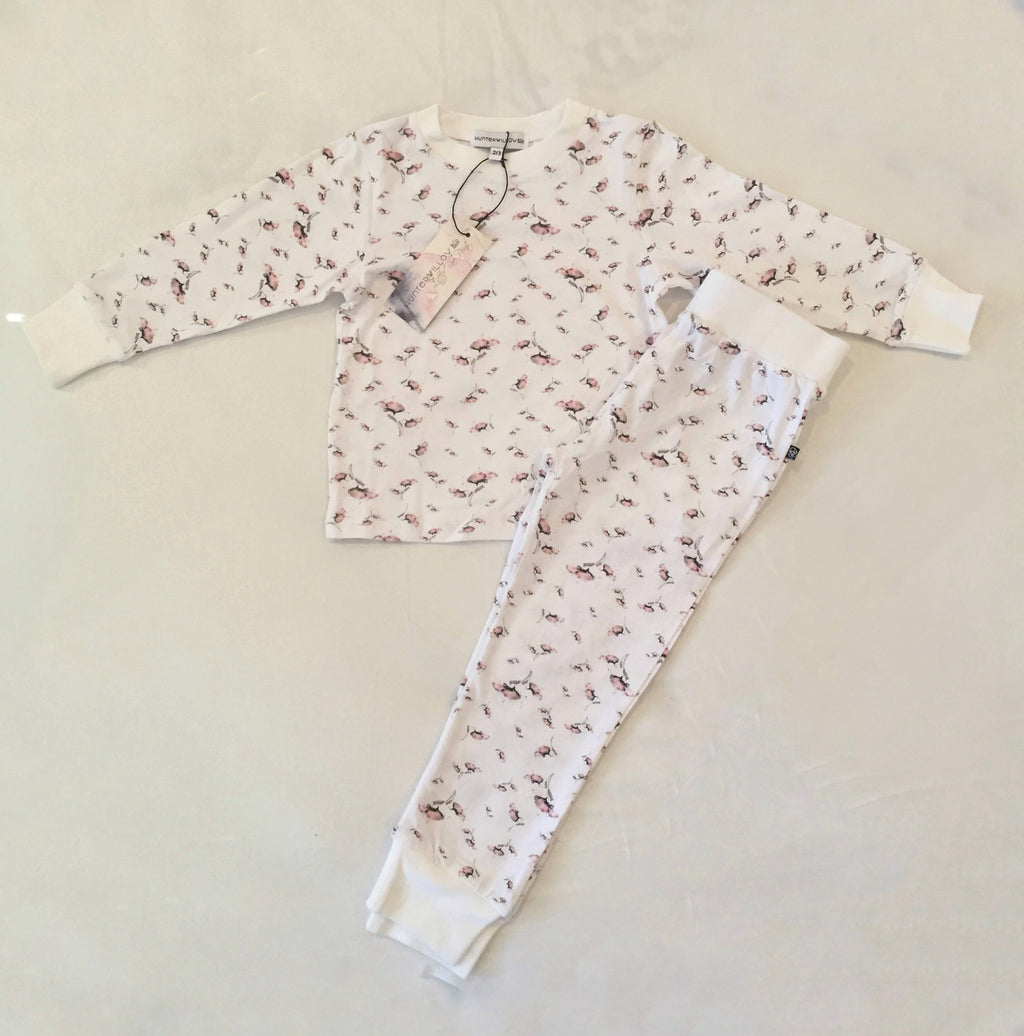 Childrens Poppy design set- Long sleeve