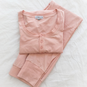 Womens Plain Pyjama Set