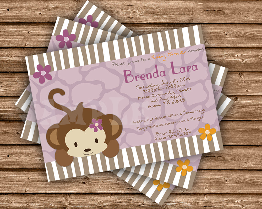 Cocalo Jacana Baby Shower Invitations Party Print Express