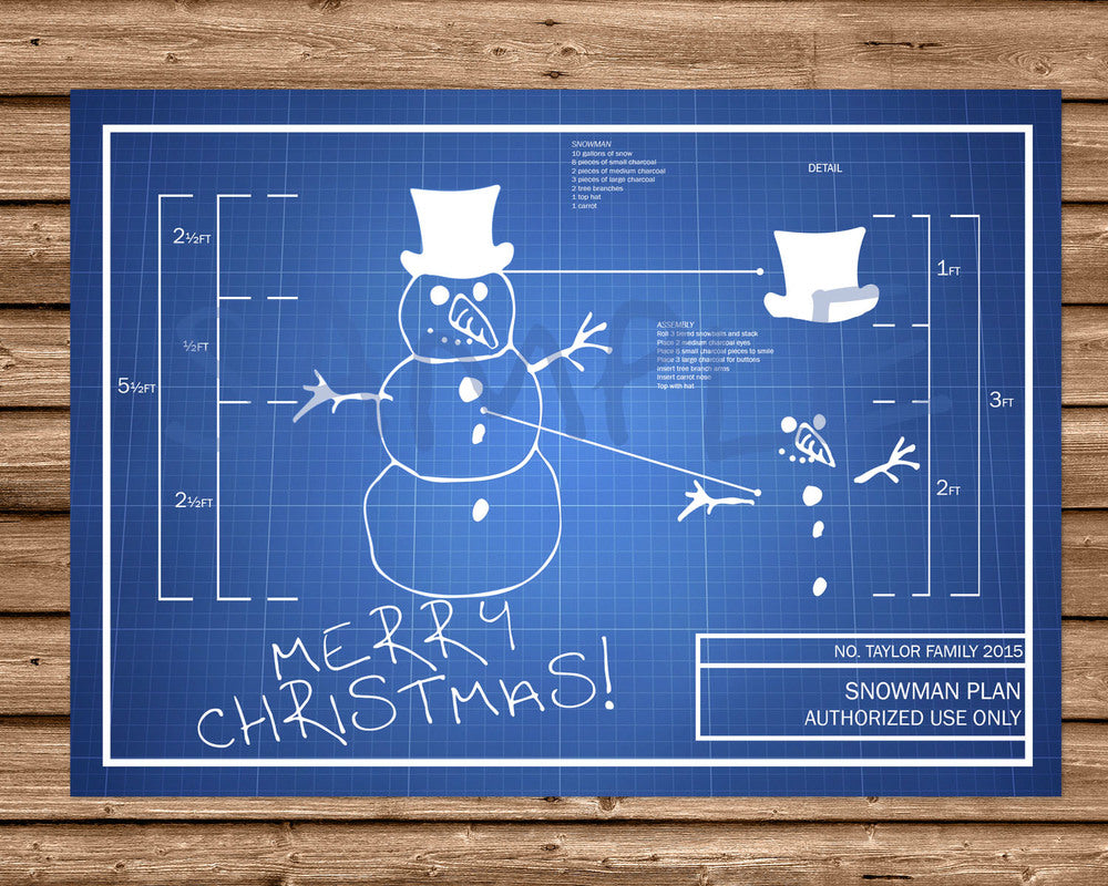 Nerdy Snowman Christmas Cards | Party Print Express