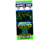 Boys Neon Roller Skating Party Ticket Invitations