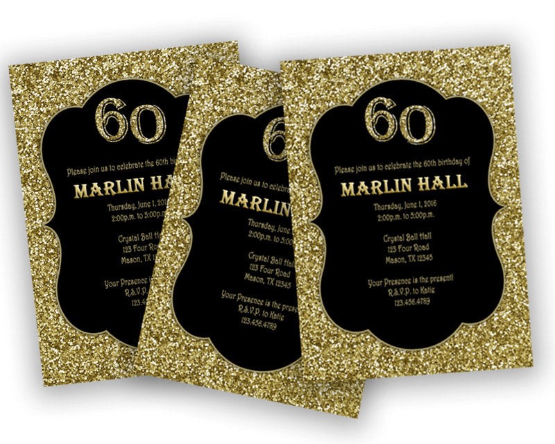 Black and gold adult birthday invitations any age party print ilfullxfull881974409594xg filmwisefo