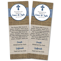 Bookmarks Matching Any Design Baptism Communion Christening