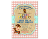 Cowboy Baby Shower Invitation Buckaroo