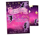 Enchanting Fairy Birthday Invitations