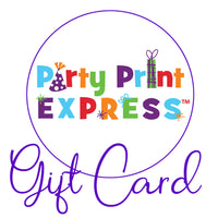 Party Print Express Gift Cards