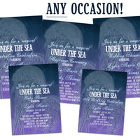 Jellyfish Invitations ANY Occasion