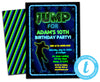 DIY JUMP Boys Trampoline Invitations - FREE DEMO
