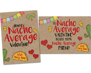 Nacho Average Valentine Cards