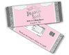 Pink Heaven Sent Candy Bar Wrappers Angel Baby Shower