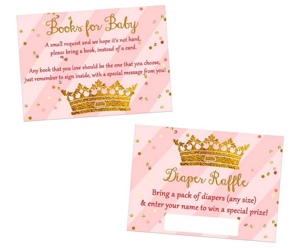 Baby Shower 48 Prize Tickets 16 Sheets Gender Reveal Party Raffle Game Supplies