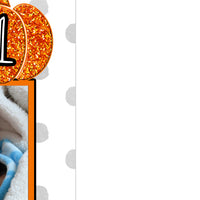 Little Pumpkin 1st Birthday Photo Banner
