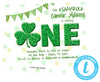 DIY Shamrock 1st Birthday Invitations - FREE DEMO