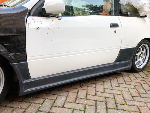 Toyota Starlet EP91 Livesports Style Side Skirts