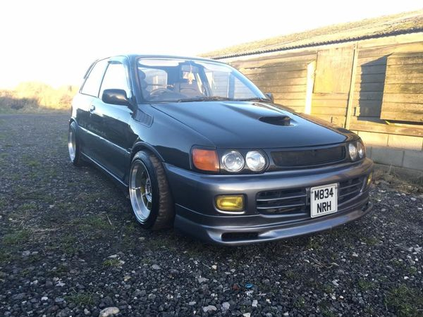 Toyota Starlet GT EP82 Livesports Style Fenders / Wings