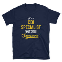 CDI Specialist Cotton Short-Sleeve Unisex T-Shirt