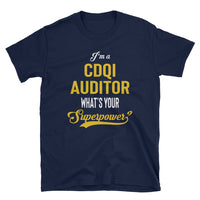 CDI + Quality Auditor Cotton Short-Sleeve Unisex T-Shirt