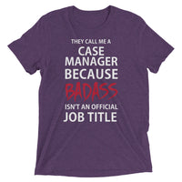 Case Manager Tri-blend Short sleeve T-Shirt