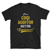 CDI + Quality Auditor FRONT & BACK Print - Cotton Short-Sleeve Unisex T-Shirt