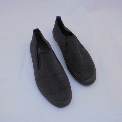 Comme des Garçons black slip on shoes (8.5)-Shoes-Mint Preloved