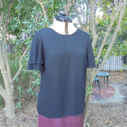 Portmans black top NWT (14)-Top-Mint Preloved