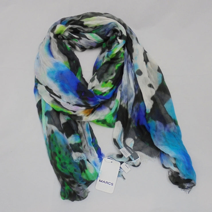 Marcs blue multi colour scarf NWT-Accessory-Mint Preloved