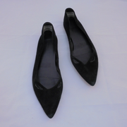 Country Road black suede flats (40)-Shoes-Mint Preloved