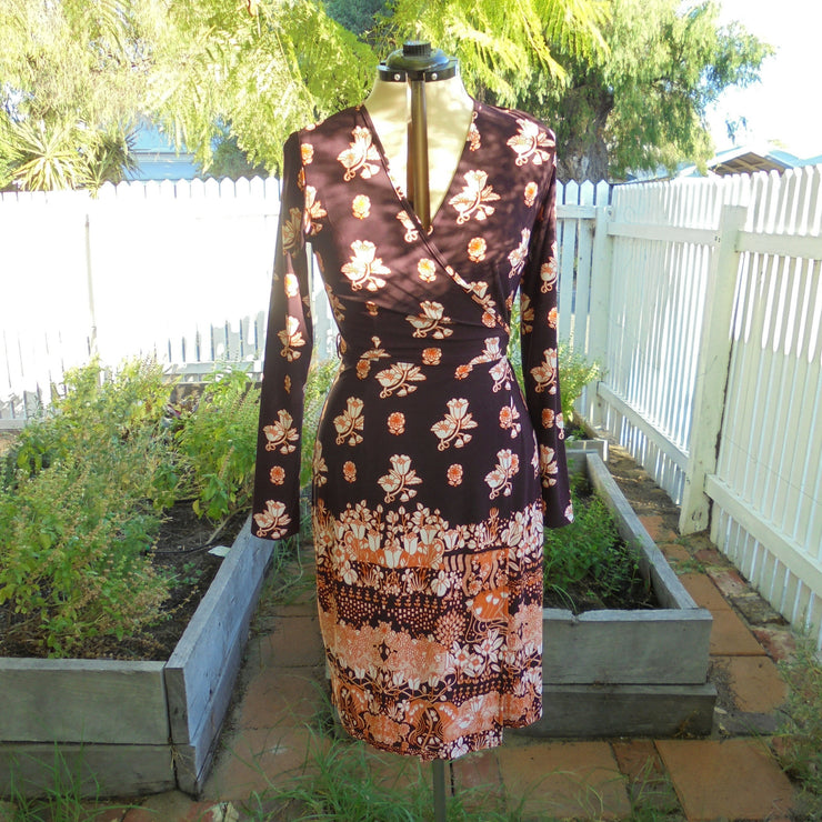 Leona Edmiston wrap dress (M)