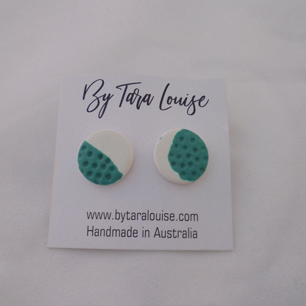 Ocean Night Stud Earrings-Accessory-Mint Preloved