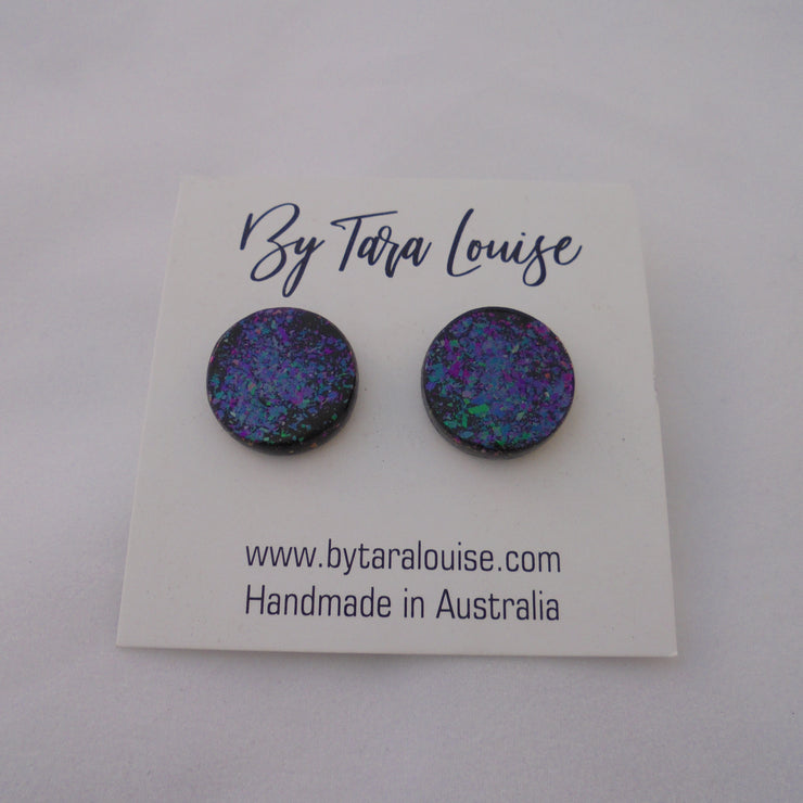 Galaxy Stud Earrings-Accessory-Mint Preloved