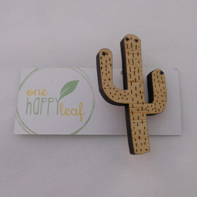 Cactus Brooch-Accessory-Mint Preloved