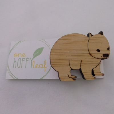 Wombat Brooch-Accessory-Mint Preloved