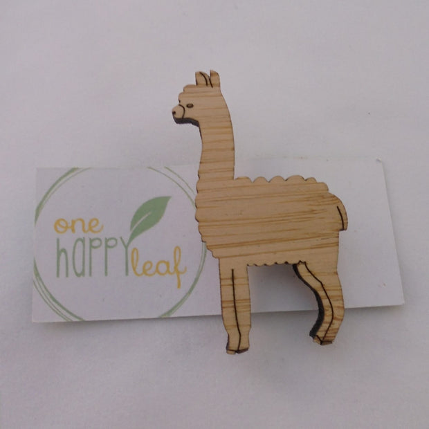Llama Brooch-Accessory-Mint Preloved