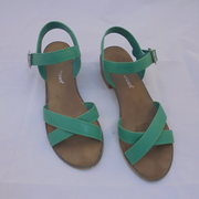 Isabella Brown Jade sandals (9)-Shoes-Mint Preloved