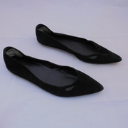 Country Road black suede flats (40)