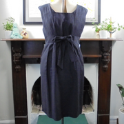 Laura Ashley dress with pockets (L)