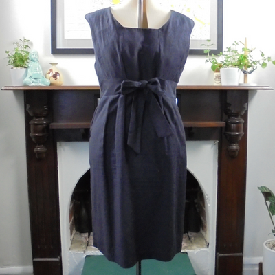 Laura Ashley dress with pockets (L)-Dress-Mint Preloved