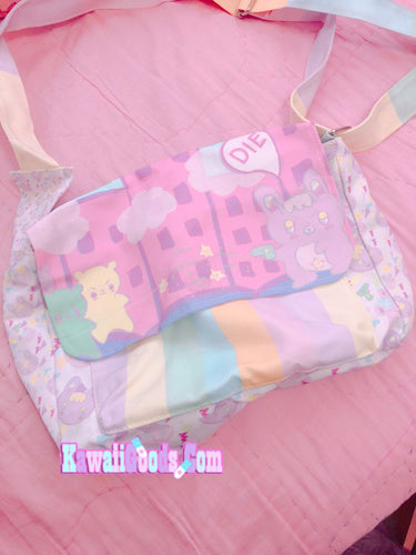 Warrior Killer Cuties Messenger Bag (Made to Order)