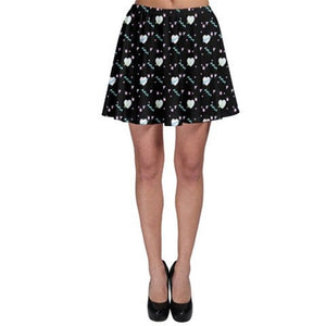 Geometric 80s heart Kawaii Skirt (Made to Order)