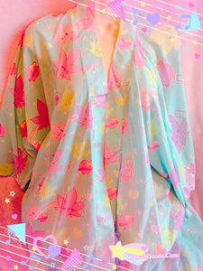Weed Chan Kawaii Kimono Robe Cardigan Top (Made to Order)