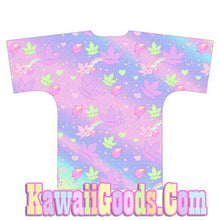 Load image into Gallery viewer, Weed Chan Kawaii Kimono Robe Cardigan Top (Made to Order)