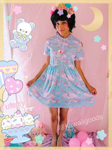 Sweetie Dreams and Trixie Dreamy Clouds Yume Kawaii Dress (Made to Order)