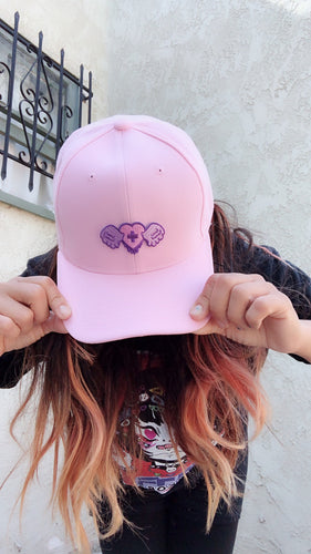 Yami Kawaii Heart Drippy Angel Hat (Made to Order)