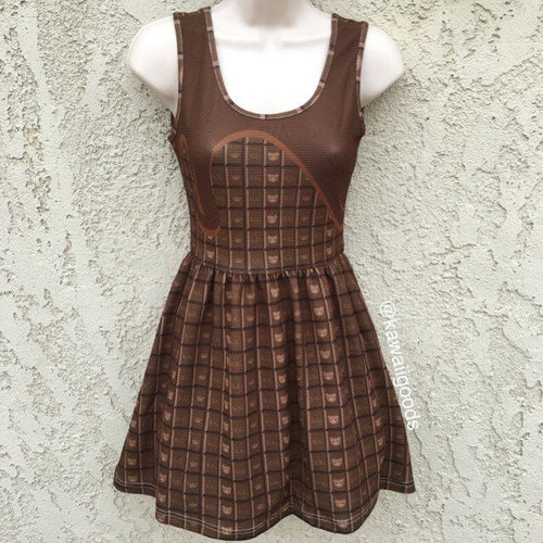 Royal Choco Kuma Chocolate Dress (Made to Order)