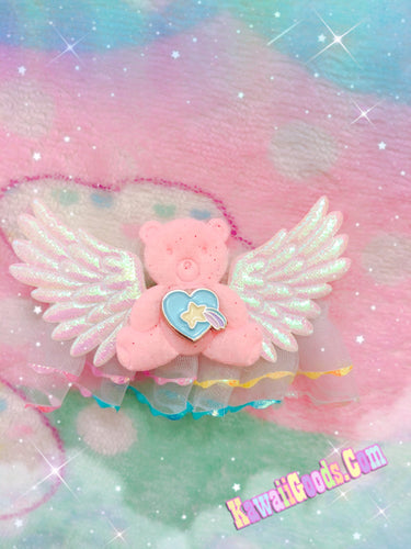 Angel Bear Star Kawaii Hair Clip
