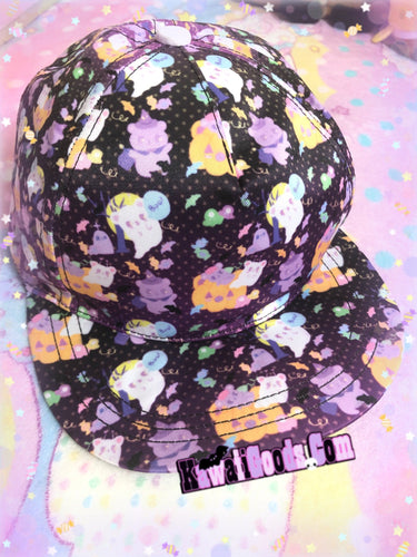 Candy Cemetery Alien Ghost Hat (Made to Order)