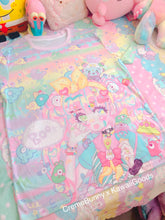 Load image into Gallery viewer, Creme Bunny x Kawaii Goods Decora Girl Party Top (Made to Order)